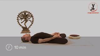 Vidéo yoga Posture du poisson - Matsyasana
