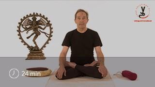 Vidéo yoga Position du lotus et sa préparation