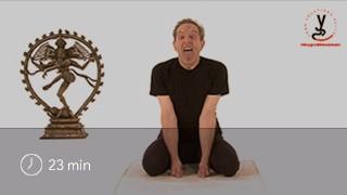 Vidéo yoga Posture du lion - Simhasana