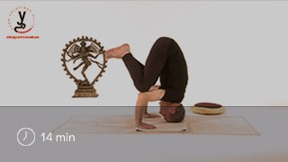 Vidéo yoga Posture du corbeau - Kakasana