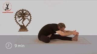 Vidéo yoga Posture de la demi-pince - Ardha paschimottanasana