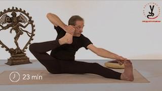 Vidéo yoga Position de l'archer - Akarna dhanurasana