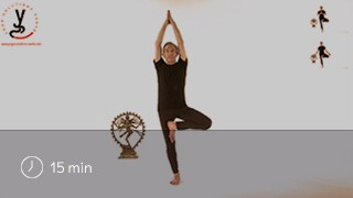 Video Yoga Posture de l'Arbre - Vrikshasana