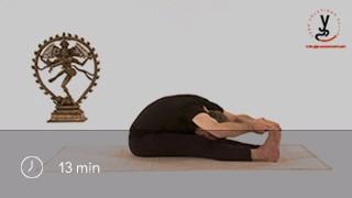 La posture de la pince - Paschimottanasa