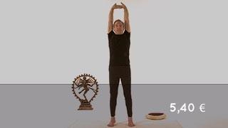 Vidéo yoga Posture des paumes de mains - Talasana
