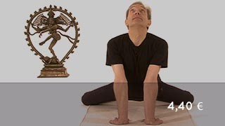 Vidéo yoga Posture de la grenouille - Mandukasana