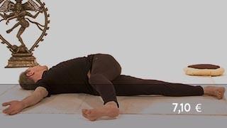 Vidéo yoga Posture de l'enroulement de l'estomac - Jathara Parivartanasana