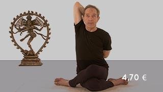 Vidéo yoga Posture de la tête de vache - Gomukhasana