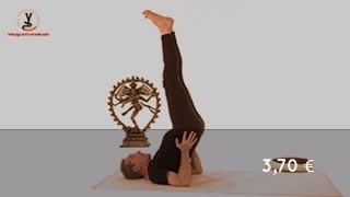 Vidéo yoga Position inversée - Viparitakarani
