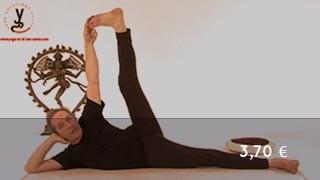 Vidéo yoga Posture de la tranquilité - Ananthasana