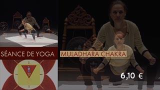 Séance de yoga sur muladhara chakra