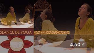 Séance sur svadisthana chakra - centre d'énergie du pubis