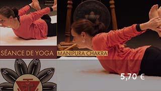 Séance de yoga sur Manipura chakra - Centre d'énergie du ventre