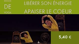 Cours de yoga - Séance pour développer l'énergie et apaiser les émotions
