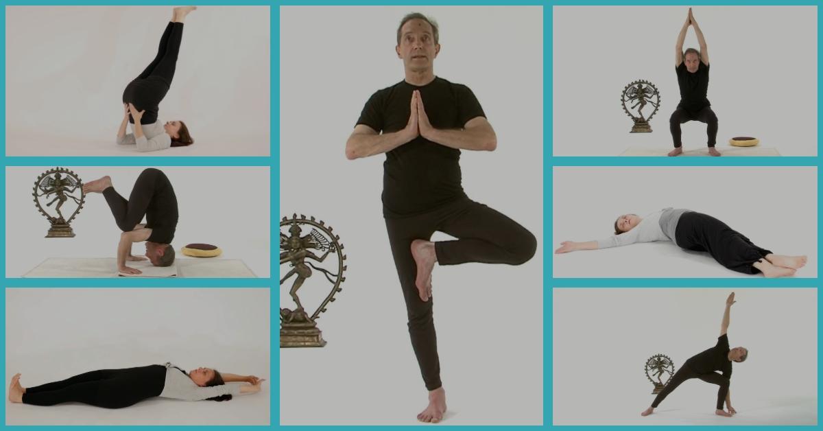 Postures de yoga-asana-actions physiologiques