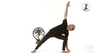 Postures des triangles étirés - Utthita trikonasana
