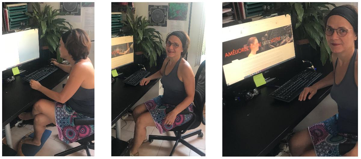 Yoga Solutions Santé, espace de travail de Anne Juillet