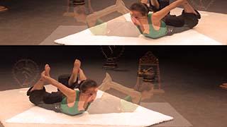Cours de yoga en ligne - Séance dynamique pour développer une énergie chaude et vibrante développer