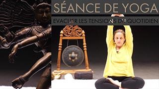 Cours de yoga en ligne pour évacuer les tensions, le stress du quotidien