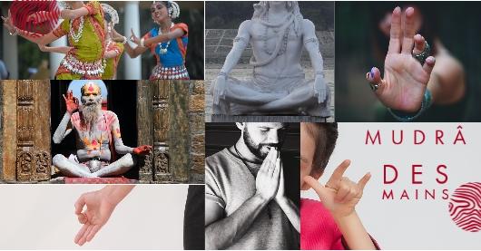 Mudra des mains dans le yoga, transmetteurs d'énergie